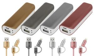 Batterie secours smartphone/câble