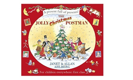 Jolly Christmas Postman Book by Janet and Allan Ahlberg for £8.80