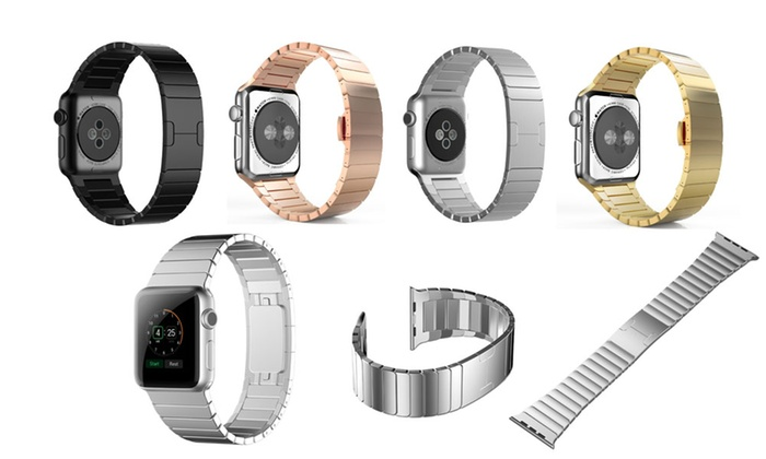 MRSTORE: $39 for a Stainless Steel Band for Apple Watch