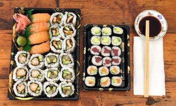 Kinkerstraat: sushibox afhalen