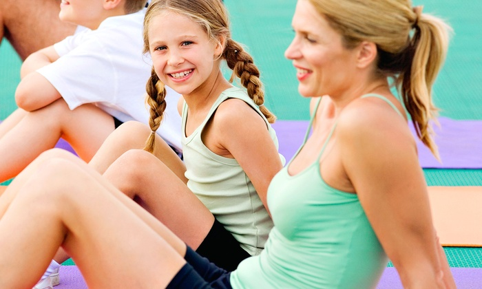 Kids Fitness World - Kids Fitness World: $35 for a One-Month Mommy-and-Me Fitness Program with Enrollment Fee at Kids Fitness World ($89 Value)