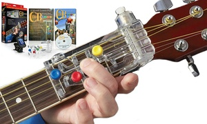 Shark Tank's ChordBuddy Guitar Learning System with Optional Tuner
