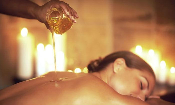 Une Pause Bien Être (New) - Gosselies: Un soin visage Tahiti Dream violette et framboise et un massage aux huiles essentielles dés 24.99€