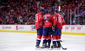 Washington Capitals – Up to 56% Off Hockey Game at Washington Capitals, plus 6.0% Cash Back from Ebates.