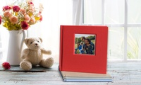 40-Page Hardcover Debossed Photobook in Choice of Size from Photobook UK (Up to 73% Off)