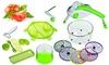 Set de cuisine avec mixeur à salade et accessoires