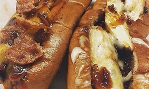 Jordan's Hot Dogs and Mac: Comfort Food at Jordan's Hot Dogs and Mac (Up to 50% Off)