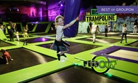 One-Hour Trampoline Jumping for Up to Four at Flip Out Birmingham (Up to 35% Off)