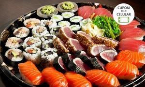 Atlântico Sushi: Atlântico Sushi – Shopping Downtown: jantar com rodízio especial para 1 pessoa de segunda a domingo