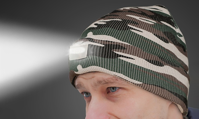 5c6a8b76a05 Up To 88% Off on Unisex LED-Headlamp Beanie