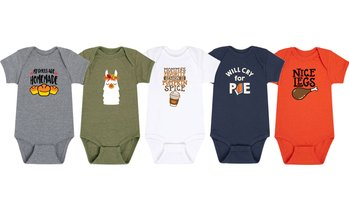 Instant Message: Infant Fall and Thanksgiving Body Suit