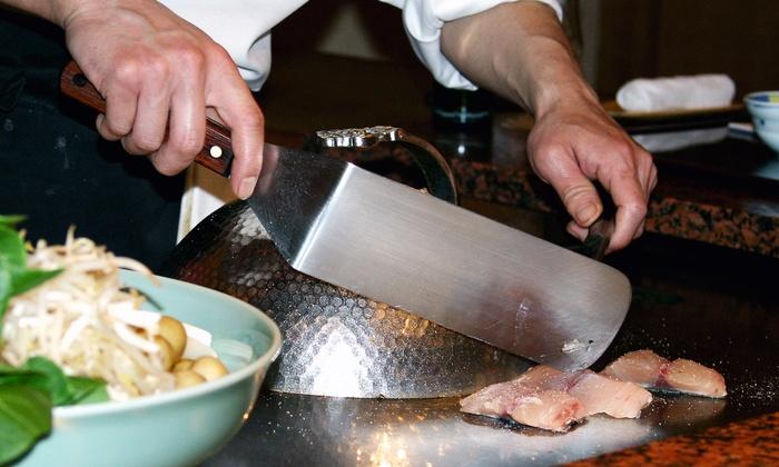 Saga Hibachi Steakhouse & Sushi Bar - Monroeville: Weekday Japanese Dinner for Two or Four at Saga Hibachi Steakhouse & Sushi Bar (Up to 50% Off)