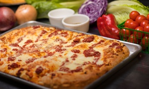 Up to 48% Off Casual Italian Cuisine at Nonna's Pizza + Pasta at Nonna's Pizza + Pasta, plus 6.0% Cash Back from Ebates.