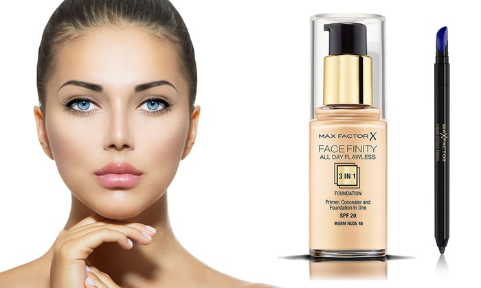 Eyeliner e fondotinta Max Factor