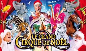 Le Grand Cirque de Noël: 1 place en tribune d'honneur pour unedes représentations du Grand Cirque de Noël à 10 € au Parc des Expositions de Metz
