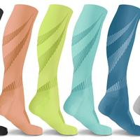Groupon.com deals on 6-Pack DCF Elite Lightweight Compression Socks