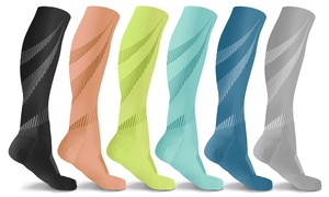 DCF Elite Lightweight Compression Socks (6 Pairs)