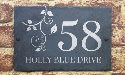 Personalised Handmade House or Business Signfrom £15.99 With Free Delivery