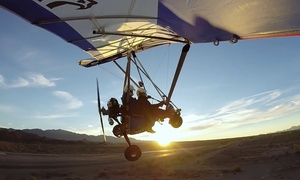 Trike Rides: One-Hour Discovery, Sunrise, or Sunset Flight with In-Flight Video at Trike Rides (Up to 26% Off)