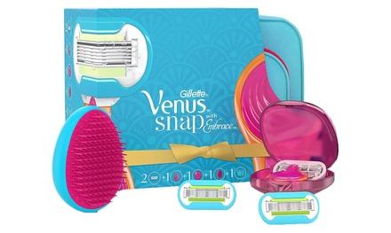 Gillette Venus Snap Womens Compact Razor Gift Set