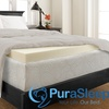 "SleepWise by PuraSleep 3"" Perfect Plush Memory Foam Topper"