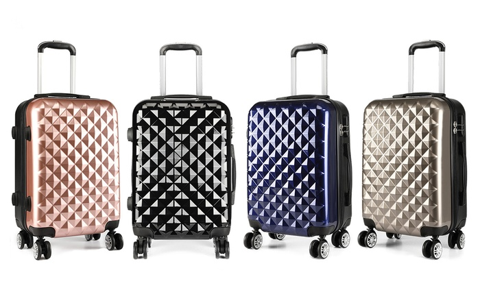 Diamond Cabin Size Suitcase