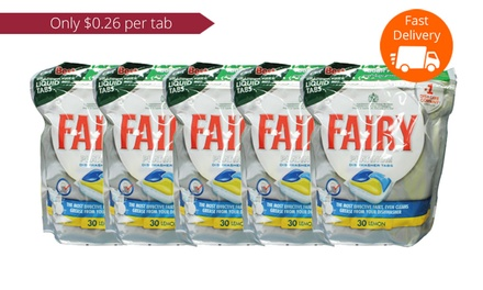 $39 Fairy Platinum Lemon Dishwasher Liquid Tabs Don't Pay $103.37