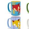 Ceramic Fox Coffee Mugs