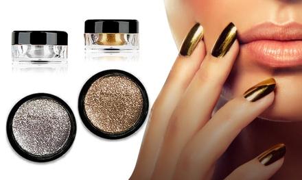 Polvere a effetto specchio per unghie groupon goods - Unghie polvere specchio ...