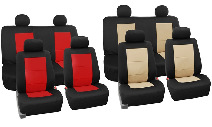 Waterproof Automotive Seat Cover Set