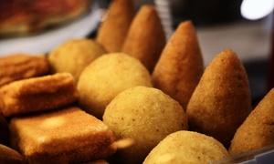 Cotto e Servito: Servizio di catering con zeppole, polpette, arancini e tranci di pizza da Cotto e Servito (sconto fino a 67%)