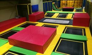 my jump: לקפוץ על זה: My Jump, פארק הטרמפולינות החדש בקניון רננים. כניסה מ-30 ₪ בלבד. 7 ימים בשבוע בחופש הגדול. אופציה לזוג