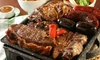 Traditional Argentinian Parrillada Experience Beef Platter for Four with Four Side Dishes Included