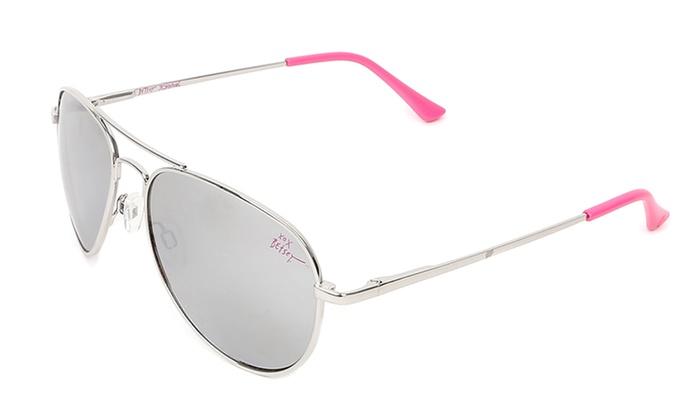2810f507383 Betsey Johnson Aviator or Round Women s Sunglasses