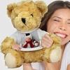 Teddybär mit Foto-T-Shirt
