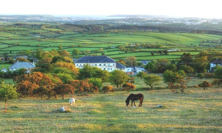 Dartmoor: 1 or 2 Nights For Two With Breakfast at The Moorland Hotel