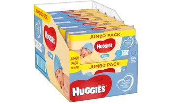 720 Huggies Pure Baby Wipes