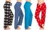 Women's Plush Fleece Lounge Pants (3 Pack)