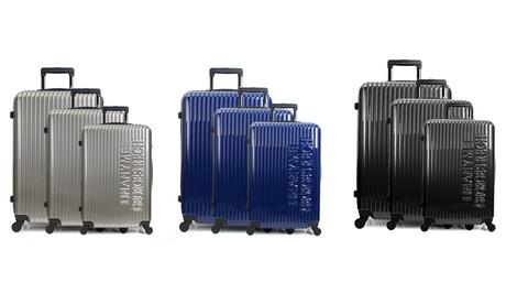 Set de 3 maletas de policarbonato de la marca Georges Rech, modelo Gand