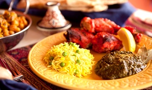 Agra Tandoori Restaurant: Indian Meal for Two or Four at Agra Tandoori Restaurant (Up to 41% Off)