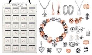 24 bijoux et charms ornés cristaux Swarovski®