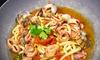 Don Pizzotto - Palermo: Menu di pesce con una o 2 caraffe di vino per 2 o 4 persone al ristorante Don Pizzotto (sconto fino a 71%)