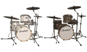 """Sawtooth Command Drum Shell Pack with 18"""" Bass Drum"""