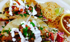 Zapatas Mexican Restaurant: $10 for $20 Worth of Mexican Cuisine and Drinks at Zapatas Mexican Restaurant