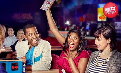Main Bingo Session plus Bottle of Wine/Prosecco for two or 2 bottles for four at Buzz Bingo, Two Locations (43% Off)