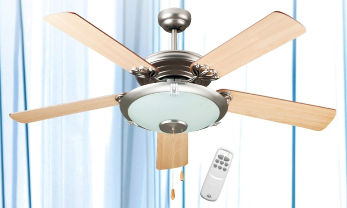 Ventilatore da soffitto a 5 pale groupon - Pale da soffitto design ...