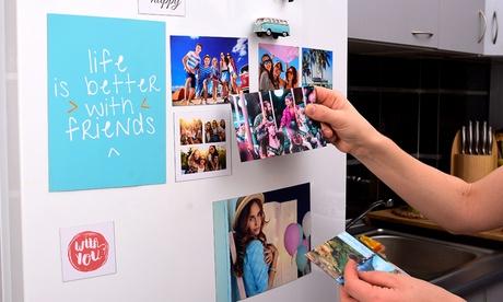 1 o 2 sets de 3 o 6 imanes con foto personalizable y tamaño a elegir con Colorland (hasta 87% de descuento)