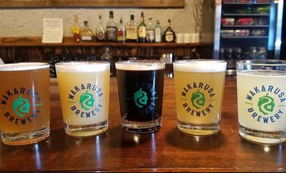 image for Tasting Package at Wakarusa Brewery (Up to 39% Off). Two Options Available.