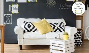 Limpa Certo: Limpeza e higienização para sofás de até 5 lugares (opção com impermeabilização) com a Limpa Certo