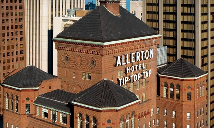 null - Detroit: Stay at The Allerton Hotel on Michigan Avenue, Chicago. Dates Available into April.